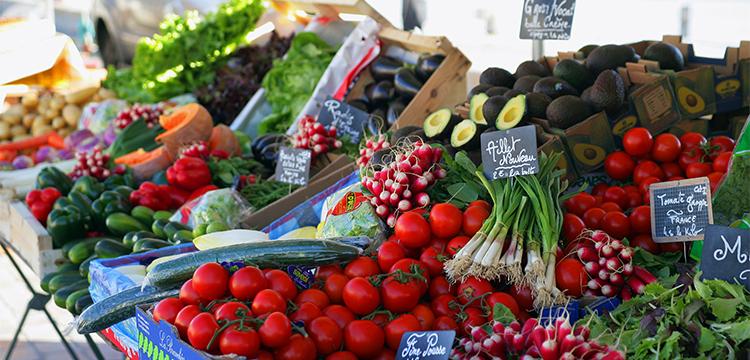 Les marchés de St-Malo